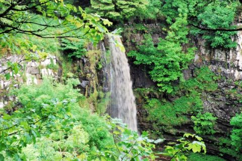 Eas Mor waterfall
