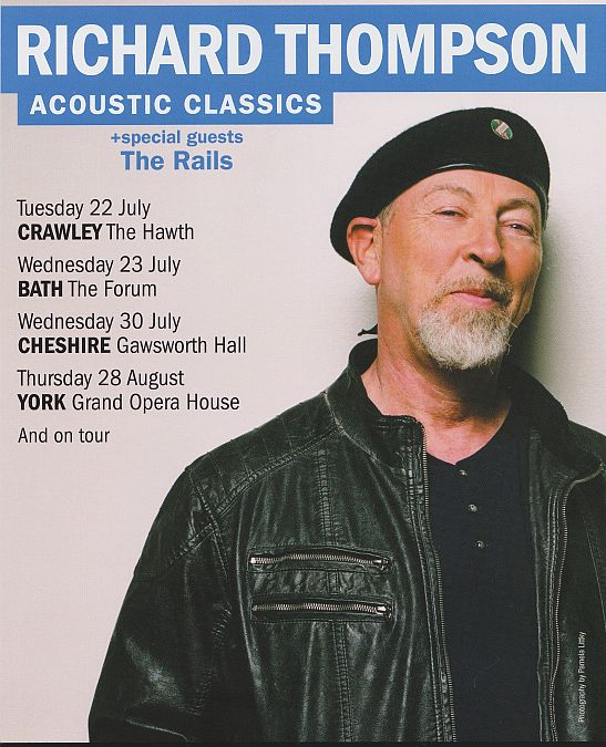 Richard Thompson at Gawsworth Hall Mock Tudor No the real thing  Thats How The Light Gets In