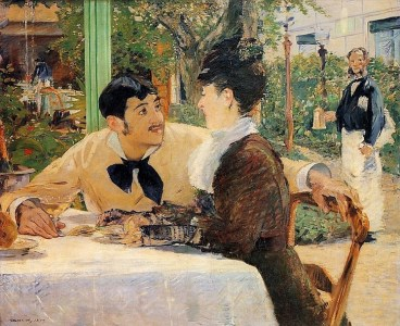 Eduard Manet, At Père Lathuille´s, 1879