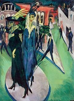 Ludwig Kirchner, Potsdamer Platz, 1914
