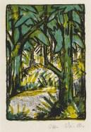 Otto Mueller, Forest Landscape, 1924