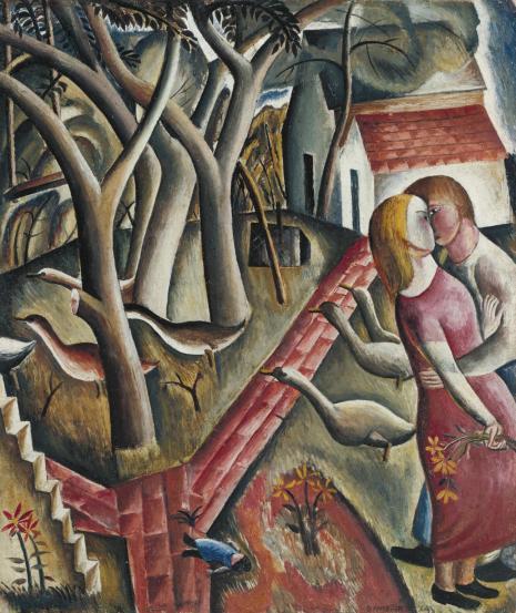 David Jones, The Garden Enclosed, 1924
