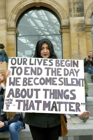 Black Lives Matter, Liverpool 2016 Phil Maxwell 2