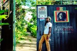 History (Path to Bob Marleys grave)