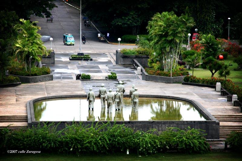 Gen Macarthur Landing Memorial Park Unusual Perspective Gerryruiz Photoblog