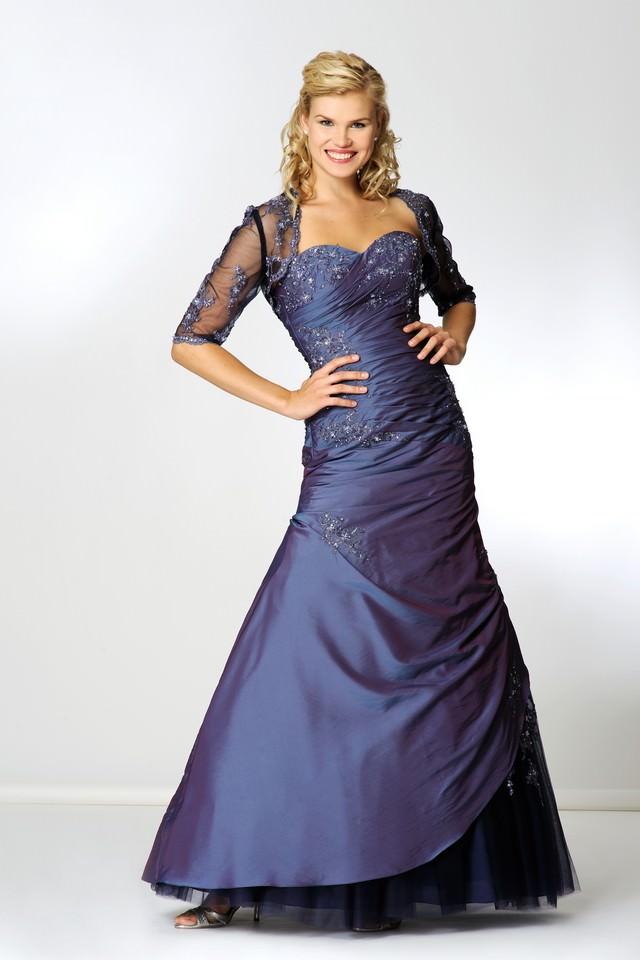 Abendkleid  lang  lila_mini  Gerrys Brautmoden und