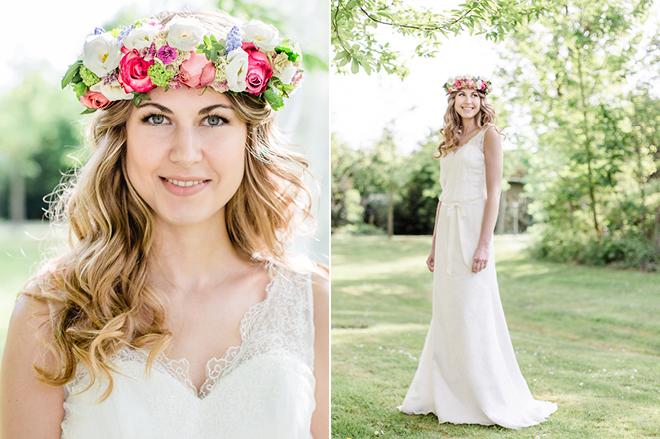 BohemianHochzeit  Unser Brautkleid bei professionellem