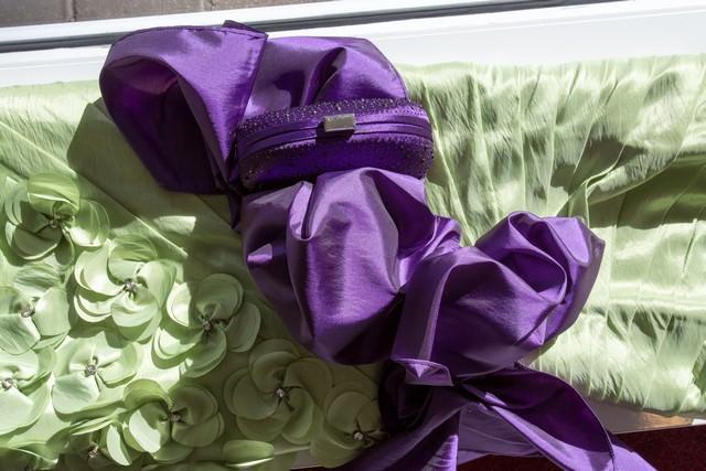 Clutch  lila_mini  Gerrys Brautmoden und Festmoden