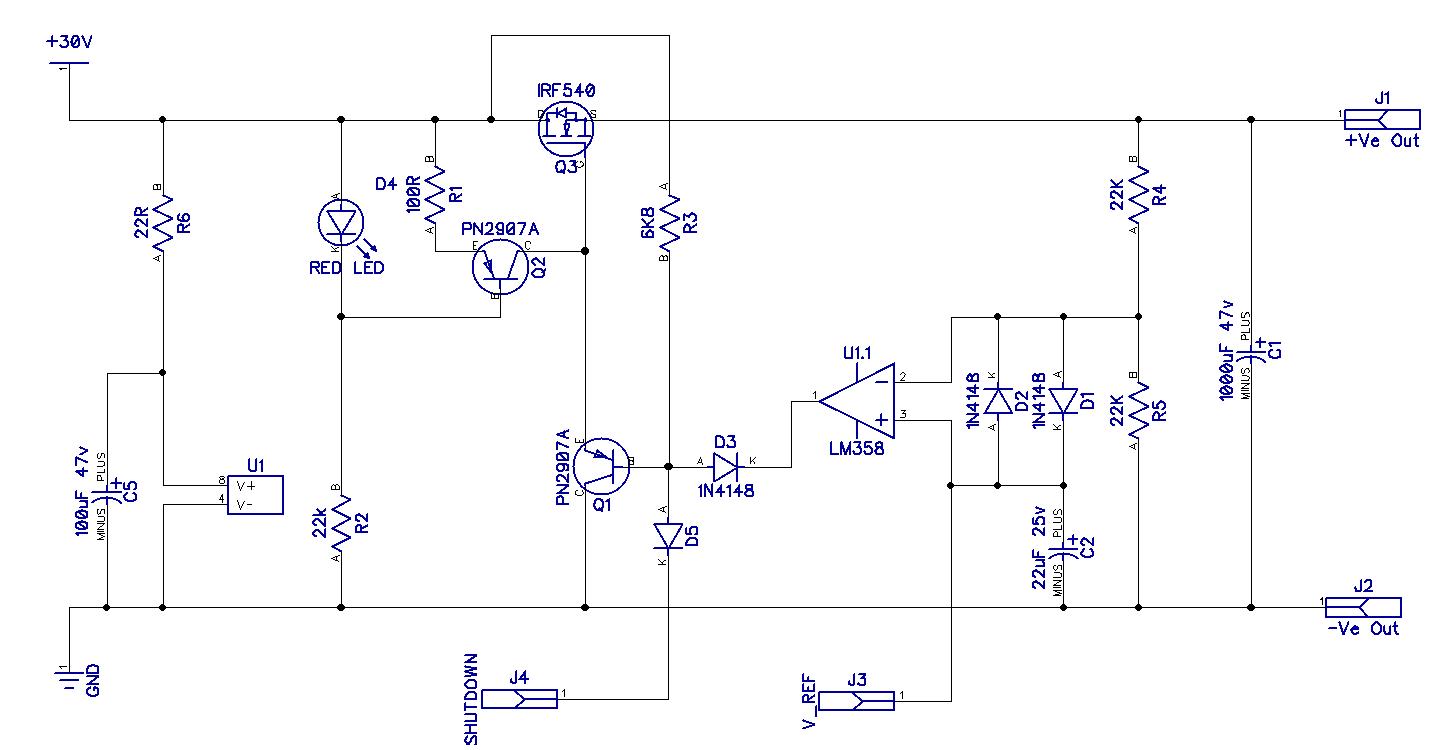hight resolution of psu schematic version 0 1