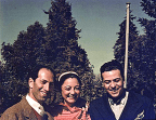 The only known color photo of George Gershwin.