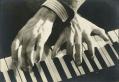 George Gershwin's hands.