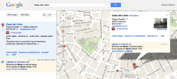 Google Local Google Places blog gerson beltran
