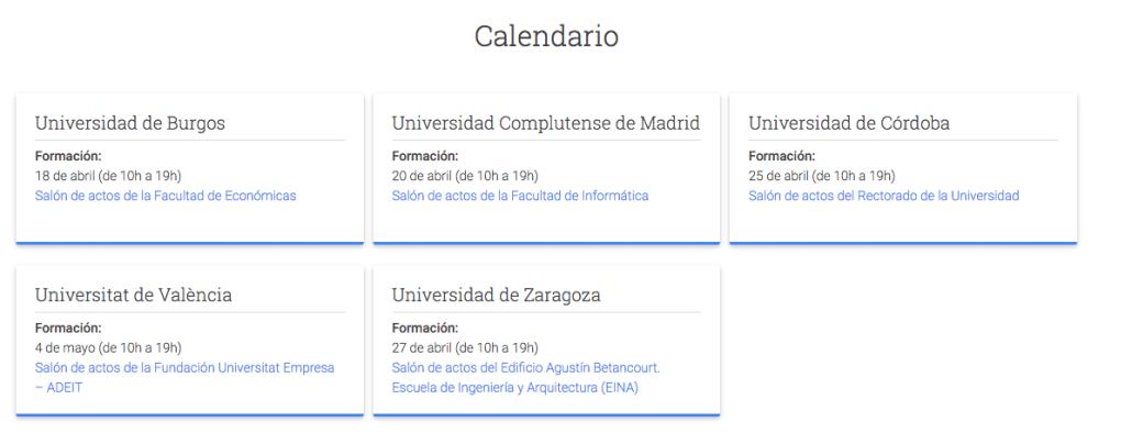 Activa tu ciudad con Google universidades Gersón Beltrán