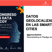 Datos geolocalizados en las Smart Cities