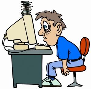 Cartoon Representation of my Exhaustion