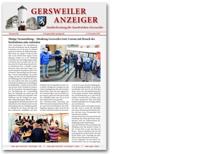 Gersweiler Anzeiger 11/2020