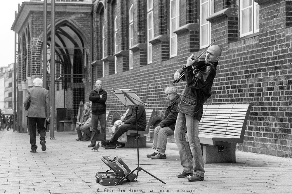Straatfotografie Lubeck