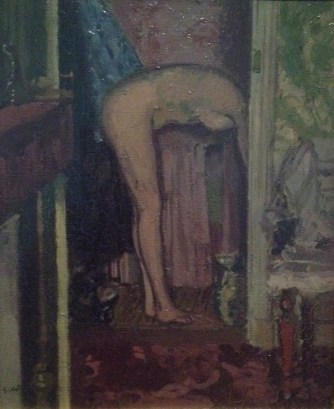 Woman washing her hair, Walter Sickert