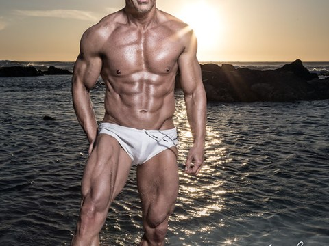 My 50th birthday muscle photoshoot 2