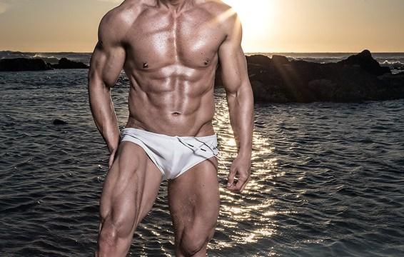 My 50th birthday muscle photoshoot 1