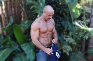 Backyard-shirt-off