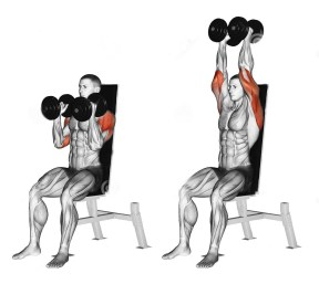 with dumbbells