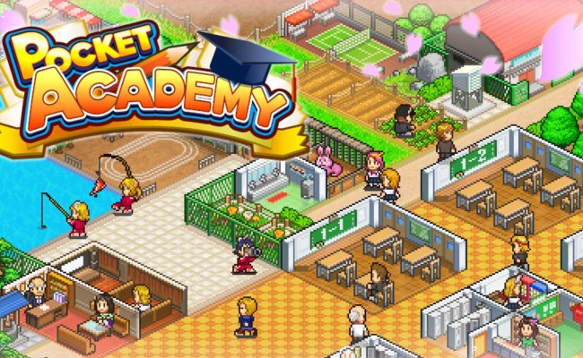 Kairosoft Games Are Bringing Pocket Academy To Nintendo Switch