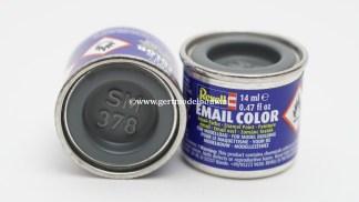 Revell 378 donkergrijs zijdemat RAL 7012 modelbouwverf en hobbyverf
