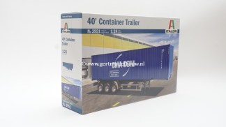 Italeri 3951 40ft container trailer 8001283039512