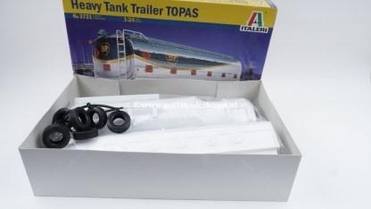 Italeri 3731 TOPAS BP Heavy Tank Trailer ( geopend, lees omschrijving! )