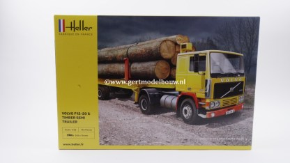 Heller F12-20 & timber semi trailer in 1:32