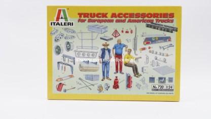 Italeri 720 Truck Accessoires 1:24 NIEUW Overige en accessoires 720