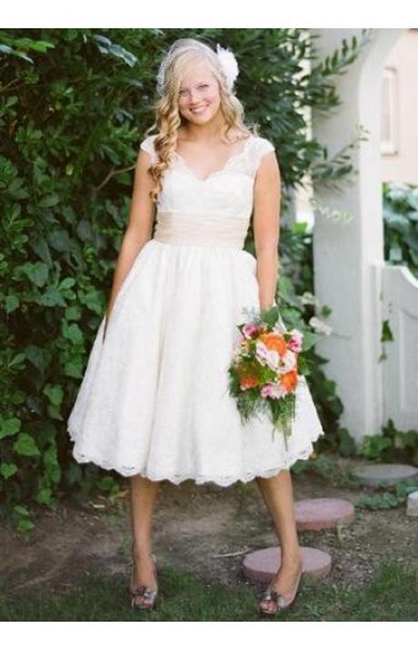 Hochzeitskleid kurz