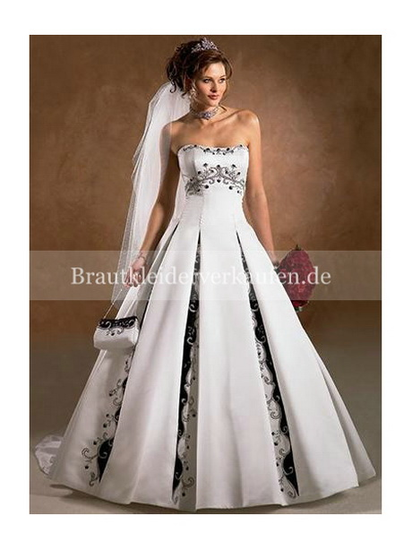 Hochzeitskleider wei rot