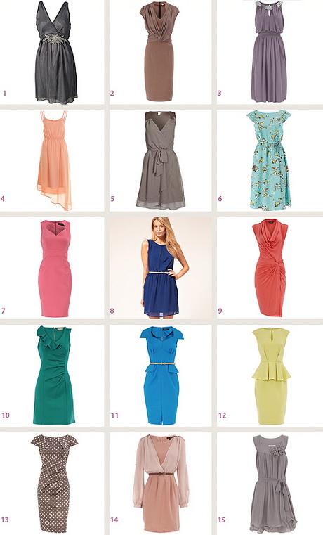 Kleid hochzeit gast