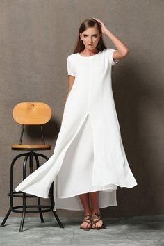 Kleid mit rmeln fr hochzeit