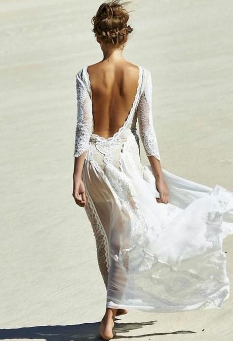 Hochzeit am strand kleid