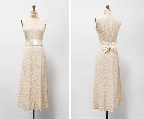 Vintage kleid hochzeit