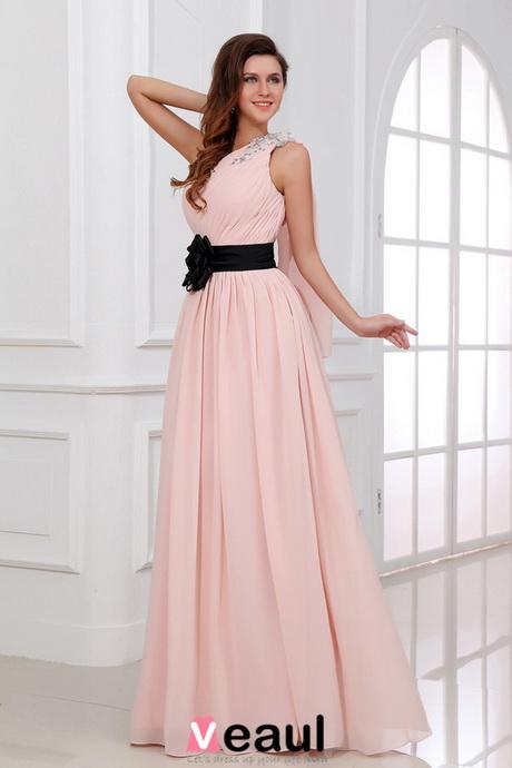 Abendkleider rosa lang