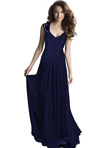 Langes kleid dunkelblau