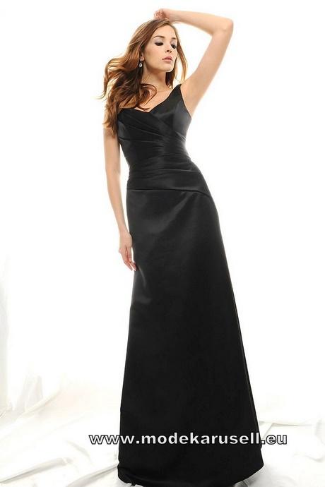 Abendkleid lang schwarz glitzer