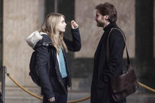 The Face Of An Angel: Cara Delevingne & Daniel Brühl