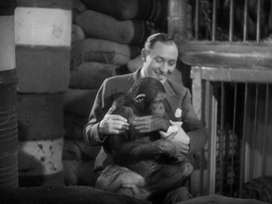 Murders In The Zoo (Lionel Atwill met chimpansee)