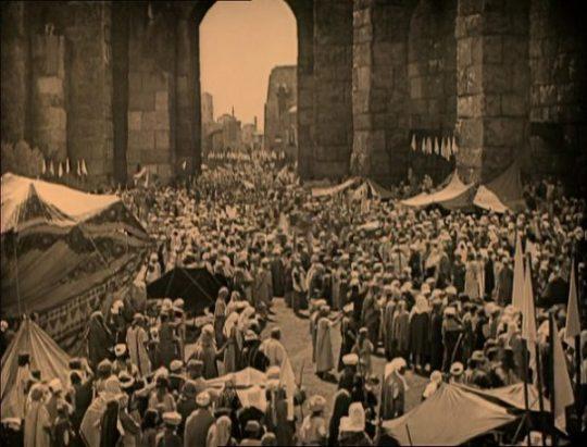 Massascène in Ben-Hur: A Tale of the Christ (1925)