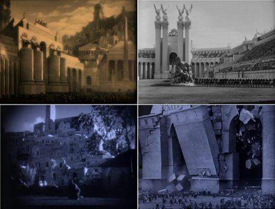 Architectuur in Ben-Hur: A Tale of the Christ (1925)