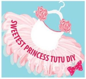 Sweetest Princess Tutu DIY Logo