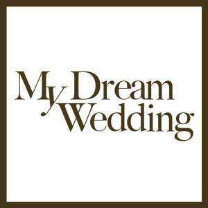 my dream wedding logo