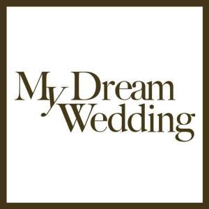 my dream wedding logo
