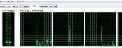 CPU Usage while streaming a Youtube Video on Google ChromeCast