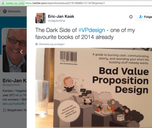 Value Proposition Design macht Junge zu Top Sales!